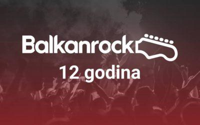 Balkanrock slavi 12. rođendan