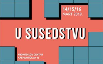 U susedstvu – susreti dvadeset autora i autorki iz Srbije i sa Kosova
