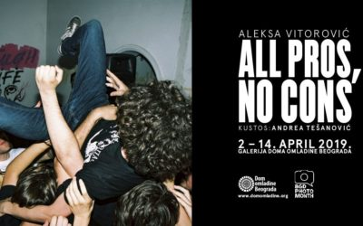 Otvaranje izložbe All Pros, No Cons Alekse Vitorovića
