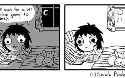 Stripovi Sare Andersen — društvene situacije sa kojima se poistovećujemo