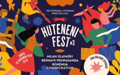 Treći Huteneni Fest u Domu omladine Beograda