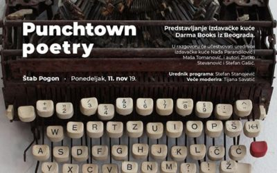 Darma Books na novembarskom Punchtown Poetry