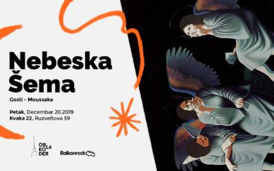 Oblakoder i Balkanrock proslavljaju saradnju žurkom Nebeska Šema