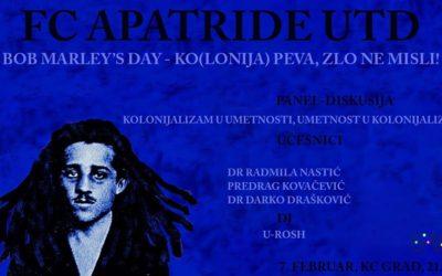 Bob Marley's Day: Ko(lonija) peva, zlo ne misli