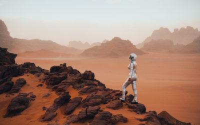 Katarina i Uroš skoknuli na Mars?