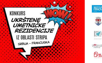 Raspisan konkurs za Ukrštene umetničke rezidencije iz oblasti stripa