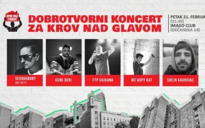 Dobrotvorni koncert ZA Krov nad glavom u Imagu