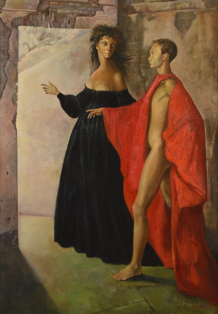 Leonor Fini, In the tower, 1952