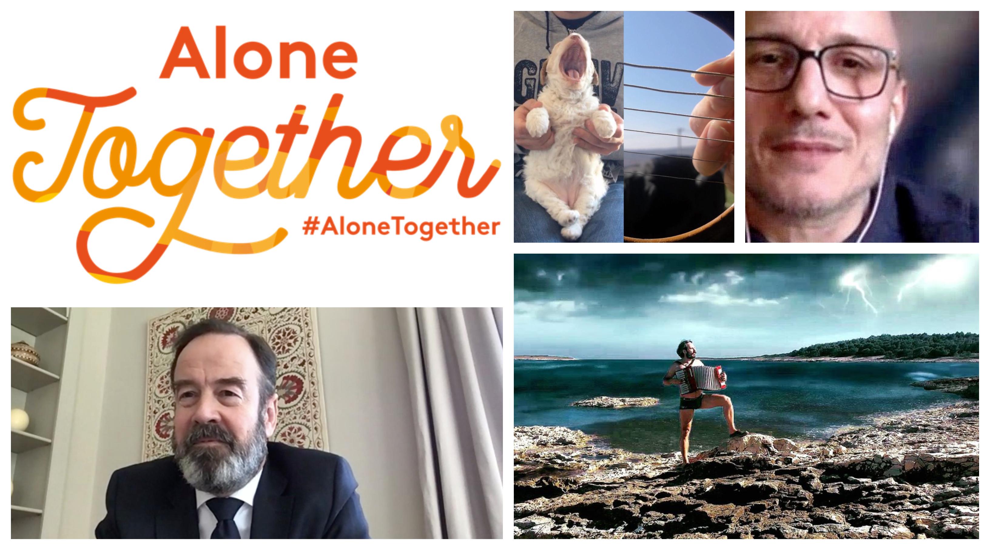 #AloneTogether: ovog vikenda dve nove emisije na onlajn platformi KC Grada