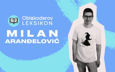 Karantinski leksikon: Milan Aranđelović