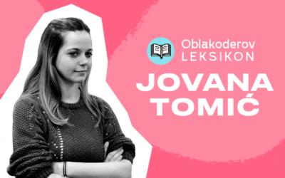 Karantinski leksikon: Jovana Tomić