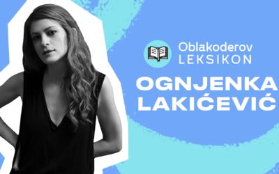 Karantinski leksikon: Ognjenka Lakićević