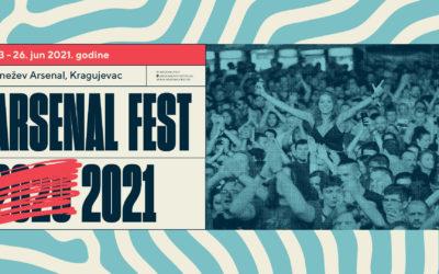Arsenal Fest pomeren za 2021. godinu, u pripremi specijano izdanje Mesec dana Arsenala