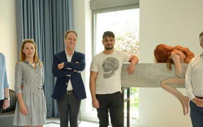 Otvorena izložba mladih umetnika u rezidenciji Švajcarske