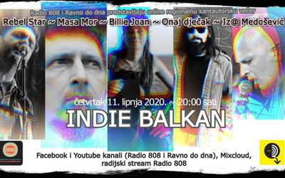 Radio 808 i portal Ravno do dna organizuju online koncert Indie Balkan