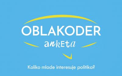 Oblakoderova anketa: Mladi i politička participacija