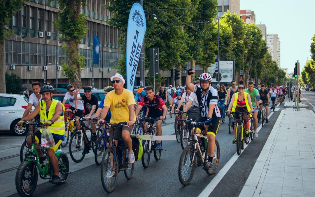 Ulice za bicikliste – rekreacija i borba za bolji biciklistički grad