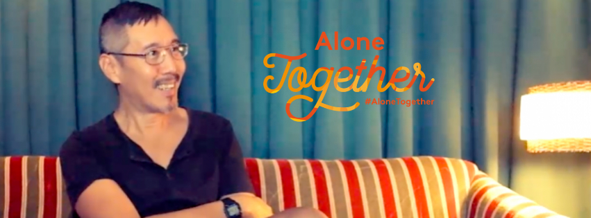 Daniel Wang gost #AloneTogether platforme