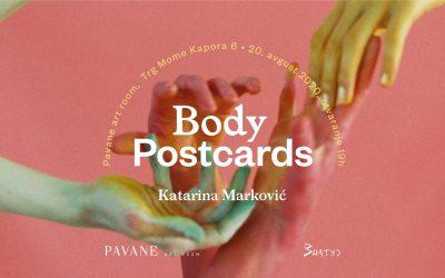 Otvaranje izložbe Body Postcards u galeriji Pavane art room