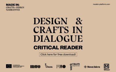 Projekat MADE IN predstavlja publikaciju o dijalogu između polja dizajna i zanata