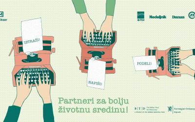 Konkurs za mlade novinare Partneri za bolju životnu sredinu