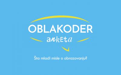 Oblakoder anketa: Mladi i obrazovanje