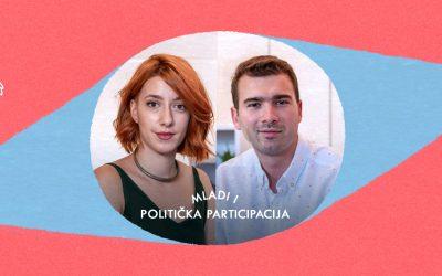 Mladi i politička participacija: Sara Nikolić i Vuk Velebit | Salon | E02
