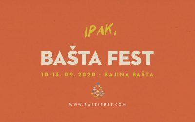 Ipak, Bašta Fest od 10. septembra