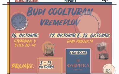 Projekat Budi Coolturan od 16. oktobra u Fabrici
