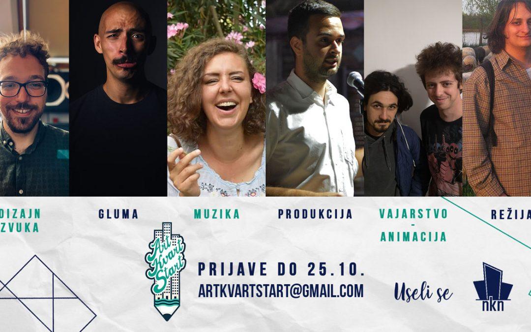 Prijave za sedmi Art Kvart – Start! otvorene do 25. oktobra