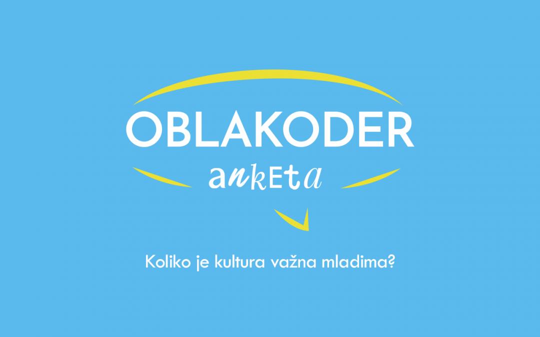 Oblakoder anketa: Mladi i kultura