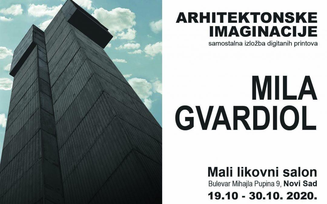 Izložba Mile Gvardiol u Malom likovnom salonu Novog Sada