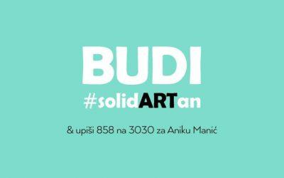 Humanitarna prodajna izložba za Aniku Manić: budimo #solidARTni ove subote!