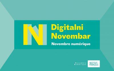 Digitalni novembar Francuskog instituta u Srbiji