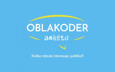 Oblakoder anketa: Mladi i politička participacija