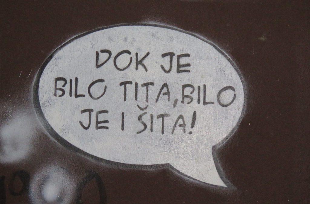 Šta nam poručuju Politički grafiti?