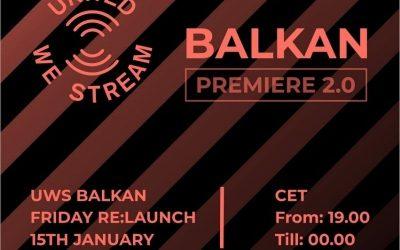 United We Stream Balkan – Novi kućni ritual petkom