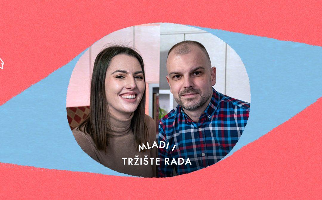 Mladi i tržište rada: Anja Jokić i Miloš Turinski | Salon | E08