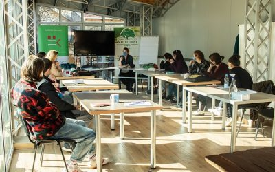 Završne pripreme mladih za pičing forum Slobodne zone Junior