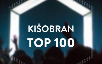 Kišobran top 100 – lista najboljih numera u poslednjih 10 godina