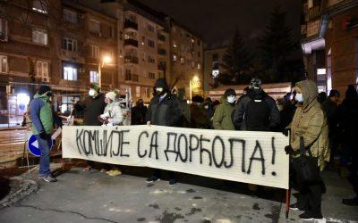 Komšije sa Dorćola – udruženje građana protiv netransparentnih radova