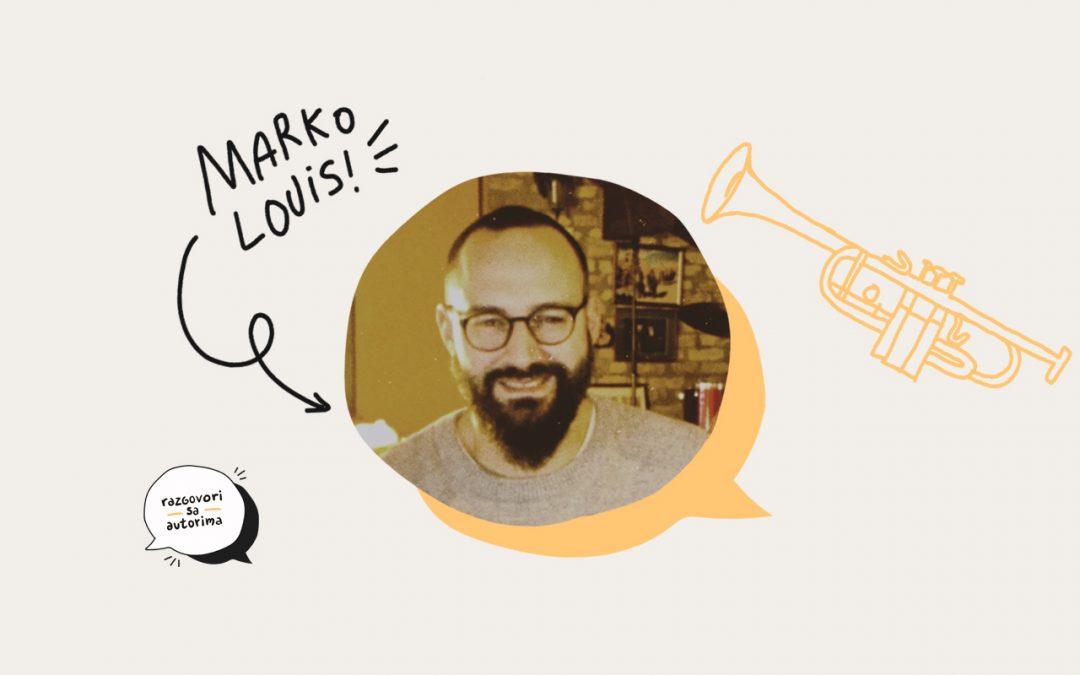 Razgovori sa autorima | S02EP01 | Marko Louis