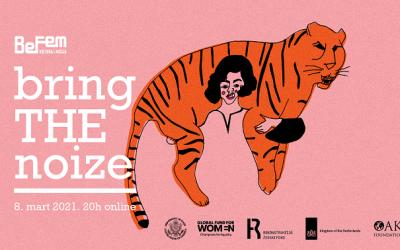 Bring The Noize dodela priznanja za feminističke inicijative za 2020.