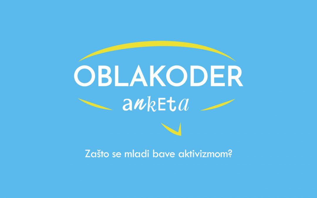 Oblakoder anketa: Mladi i aktivizam