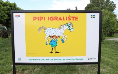Pipi igralište otvoreno u Novom Sadu