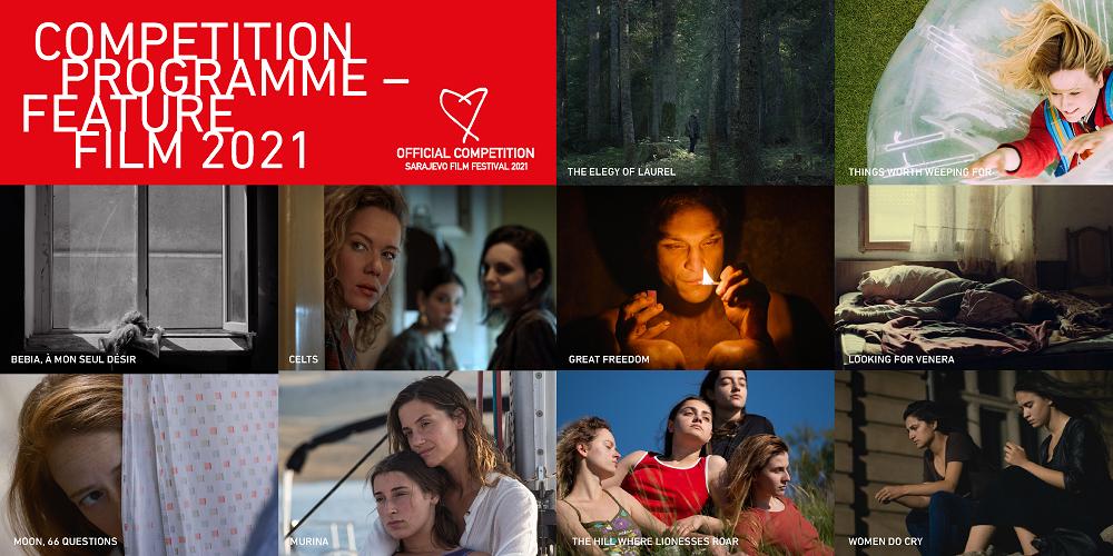 10 filmova u Takmičarskom programu – igrani film 27. Sarajevo Film Festivala