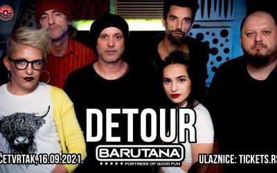 Detour 16. septembra u Beogradu