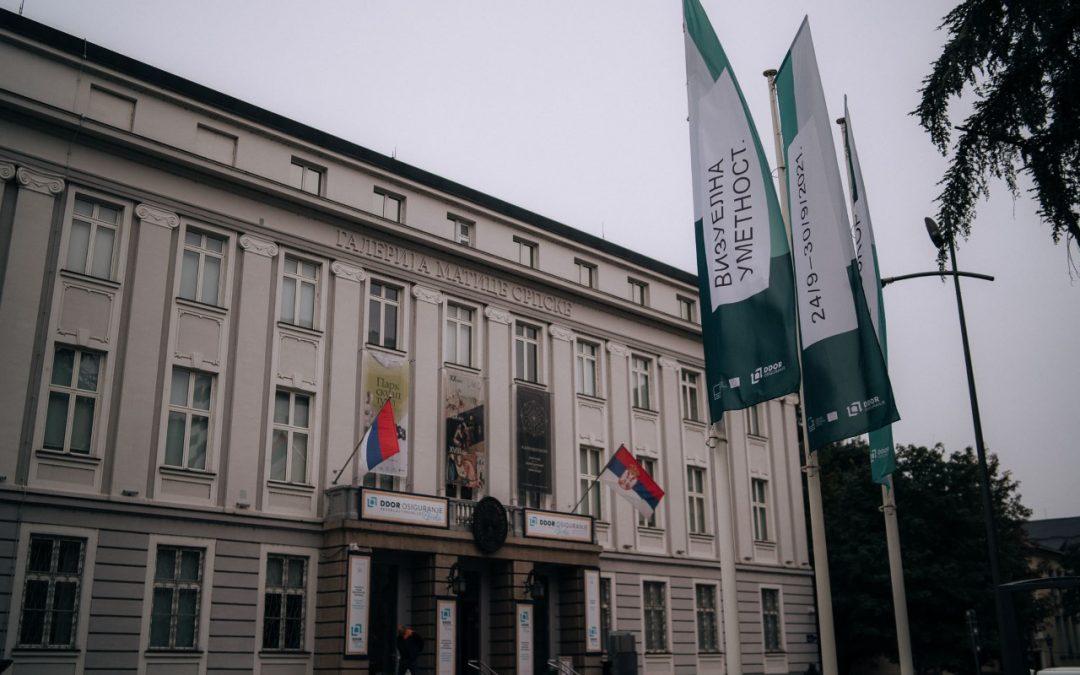 Otvaranje nedelje vizuelne umetnosti na Trgu galerija u Novom Sadu