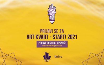 Prijave za osmi Art Kvart – Start! otvorene do 20. oktobra